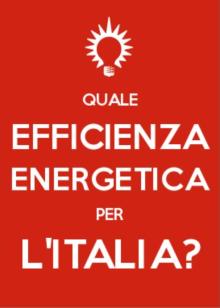 piano efficienza energetica